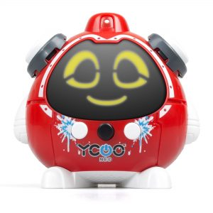 Q&A Robot with Water Squirt QUIZZIE Red